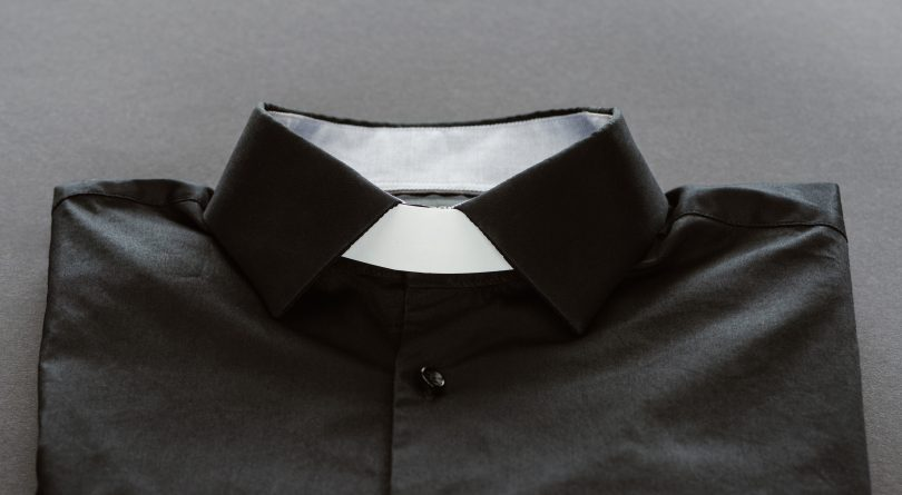Clerical shirt and collar. (LightField Studios/Shutterstock)